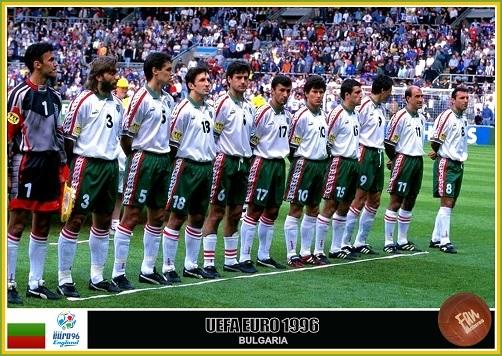 Fan pictures - 1996 UEFA European Football Championship Bulgaria Team