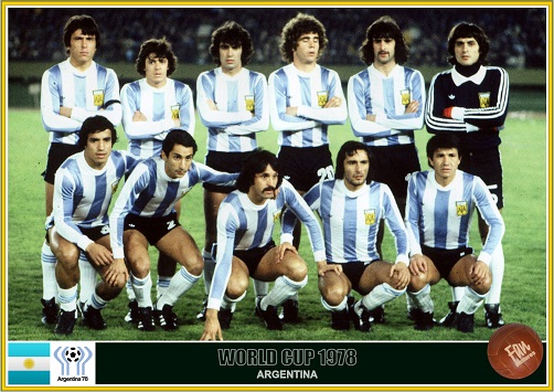 Fan pictures - 1978 FIFA World Cup Argentina. Argentina team