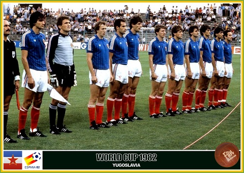 1982 FIFA World Cup Group 5