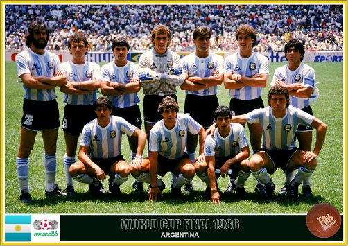 Fan pictures - 1986 FIFA World Cup Mexico