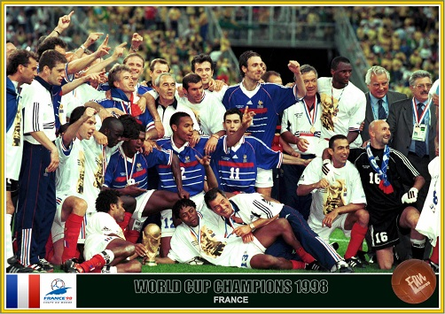 fan pictures 1998 fifa world cup france